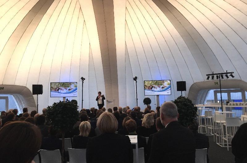 Logistique : Inauguration du nouveau bâtiment Ontex à Dourges