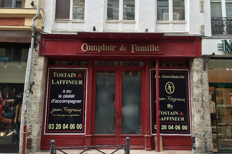 Commerce Lille - Le chocolatier Jean Trogneux ouvre rue Esquermoise