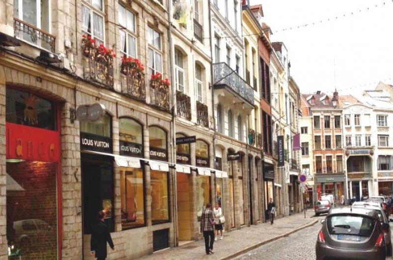 Cession local commercial Vieux Lille