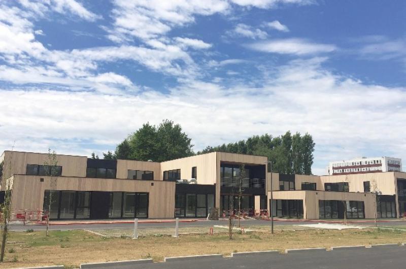Bureaux Lille : Installation de NEXYLAN sur Wood Park à Marcq en Baroeul