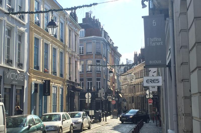 Commerce Lille : vente de murs rue Masurel
